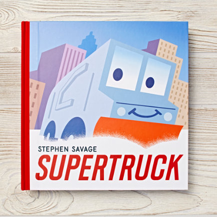 Supertruck Childrens Book - Supertruck