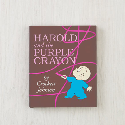 Kids Books: Harold and the Purple Crayon by Crockett Johnson - Harold and the Purple Crayon