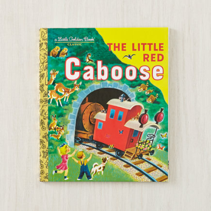 The Little Red Caboose - The Little Red Caboose by Marian Potter