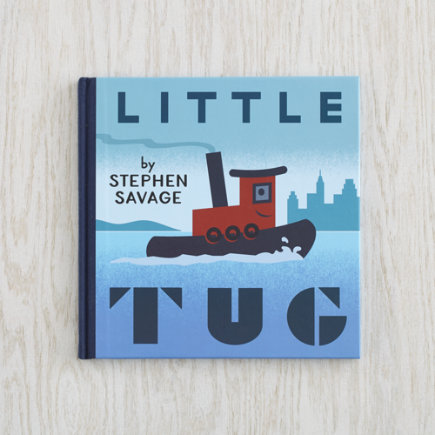 Childrens Book Little Tug - Little Tug Board Book