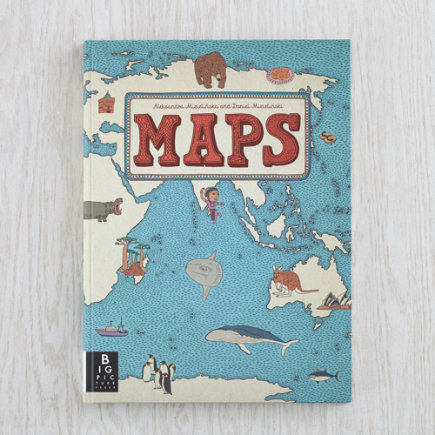 Illustrated Book of Maps - Maps Illustrated Book