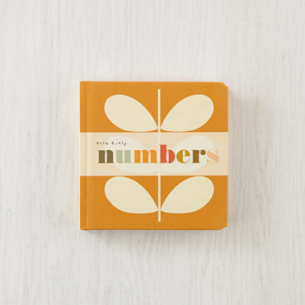 Kids Books: Numbers by Orla Kiely - Numbers Board Book by Orla Kiely