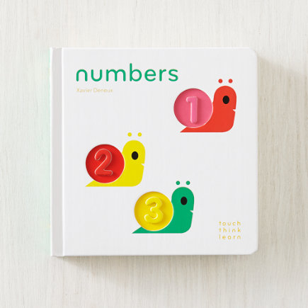 Numbers TouchThinkLearn Book