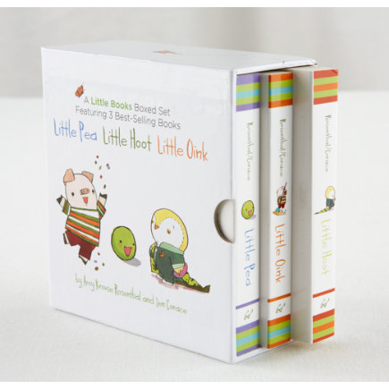 Kids Books: A Little Books Boxed Set By Amy Krause Rosenthal - Little Board Books Boxed Set