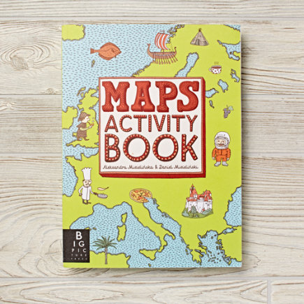 Maps Kids Activity Book - Maps Activity Book