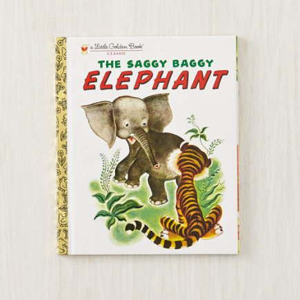 The Saggy Baggy Elephant Childrens Book - The Saggy Baggy Elephant