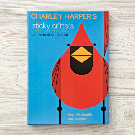Charley Harpers Sticker Kit Critters