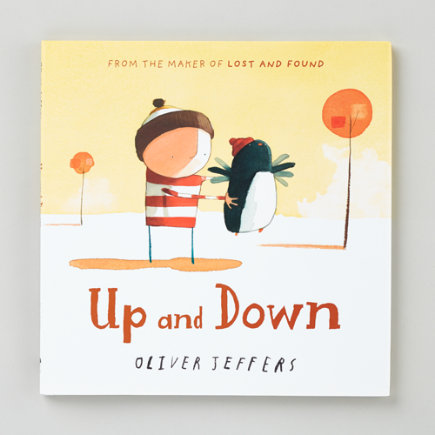 Kids Books: Up And Down By Oliver Jeffers - Up And Down Hardcover Book