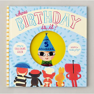 Whose Birthday Is It? Personalized Book