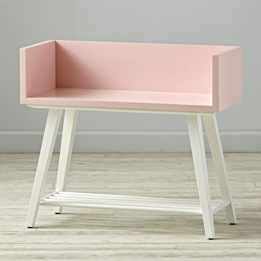 Alto Bookcase (Pink/White)
