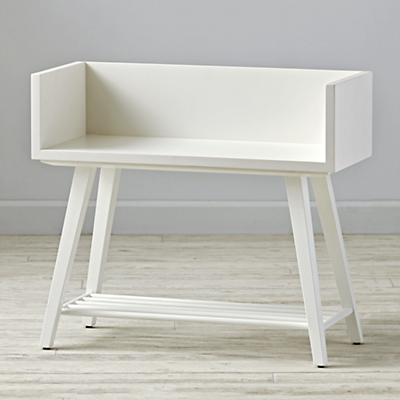 Alto Bookcase (White/White)