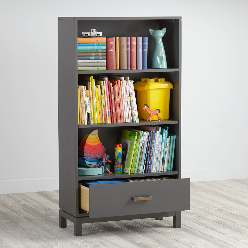 Cargo Bookcase (Charcoal)