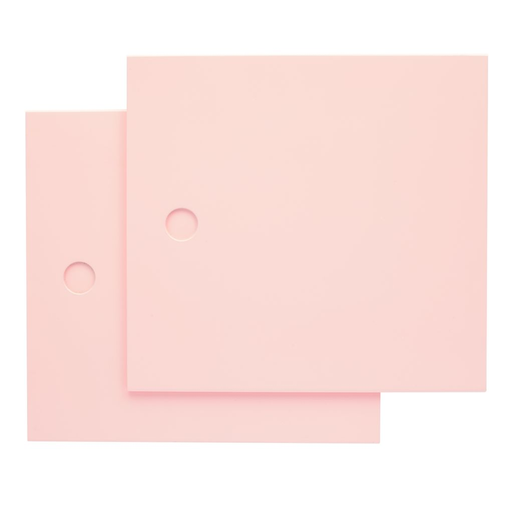 Lt. Pink District Storage Bench Doors (Set of 2)