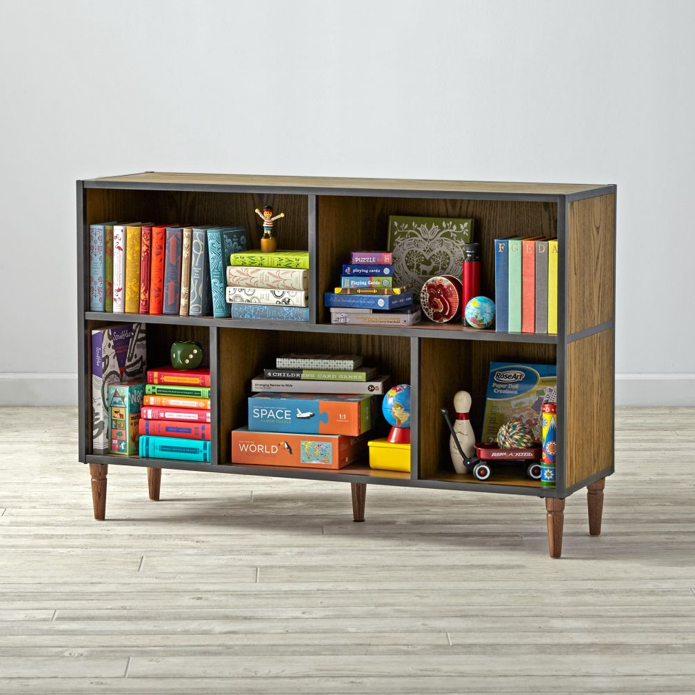 Fulton Wide Bookcase