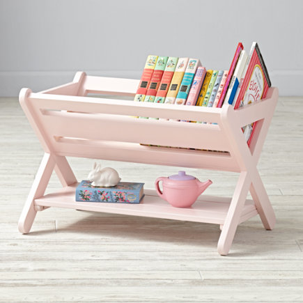 Light Pink Good Read Book Caddy