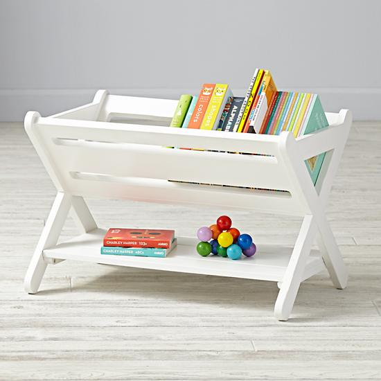 Good Read Trough Book Caddy White The Land Of Nod