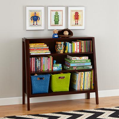 Graduated Wide Bookcase (Coffee Shelves)