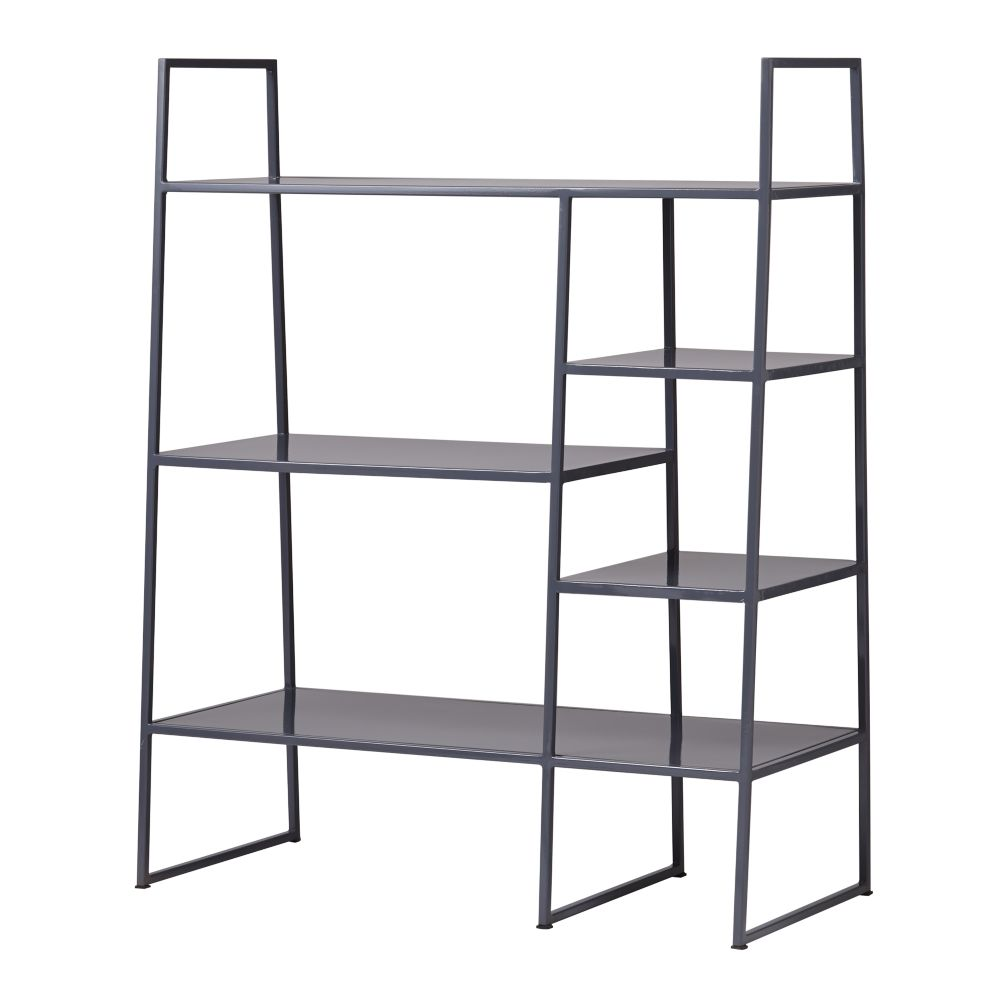 Metalwork Bookcase (Grey)