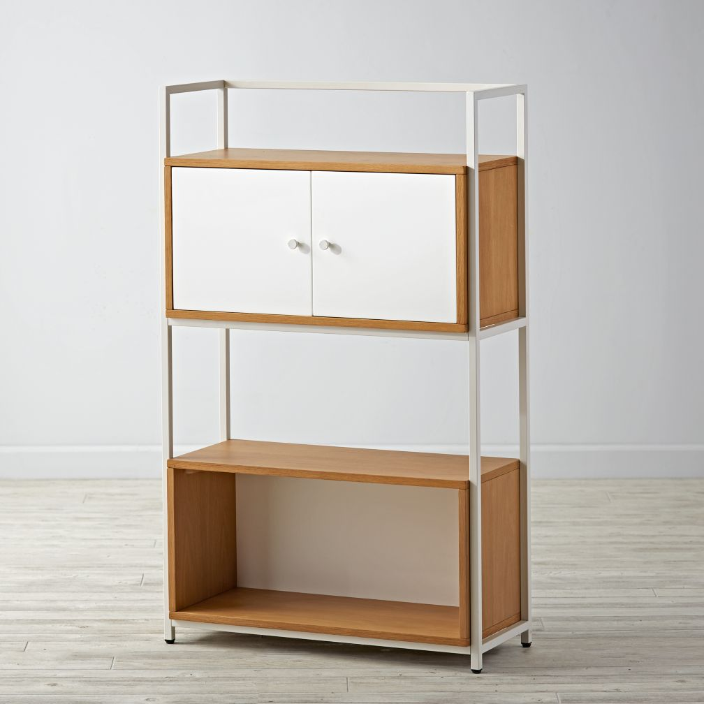 Modern Modular Frame, Open Cube and Cube with Door