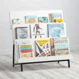 New Issue Bookcase (White/Black Base)