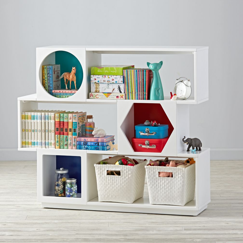 Polygon Bookcase