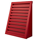 Red Venetian Bookcase.