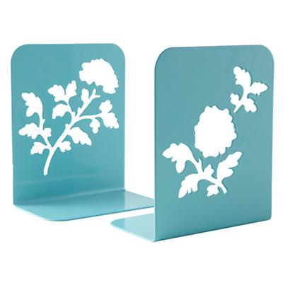 Just Leafing Through Bookend Set (Aqua)
