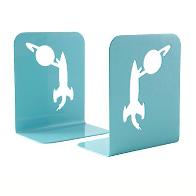 Aqua Space Bookend (Set of 2)