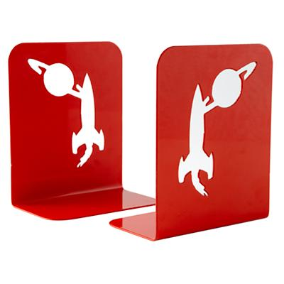 A Good Use of Space Red Bookends (Set of 2)