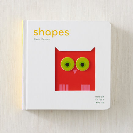 Shapes TouchThinkLearn Childrens Book - Shapes Touch Think Learn Board Book