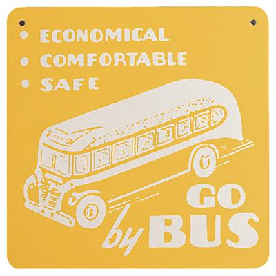 Bus Sign (Yellow)