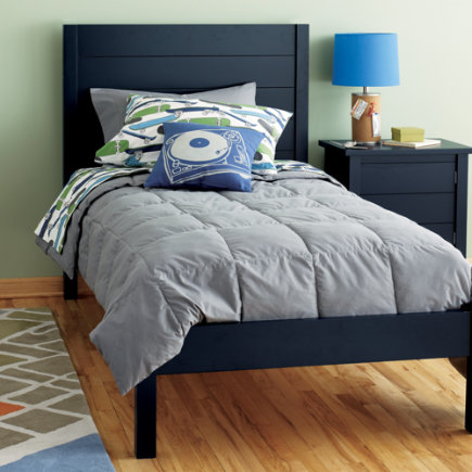 The Land of Nod Twin Midnight Blue Bed