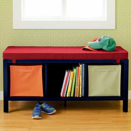 Benches And Toy Boxes Kids Room Decor