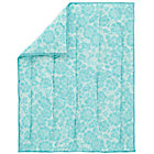 Aqua Dream Girl Baby Quilt