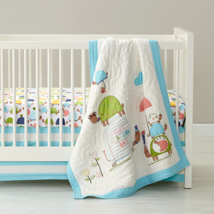- See Turtles Crib Quilt