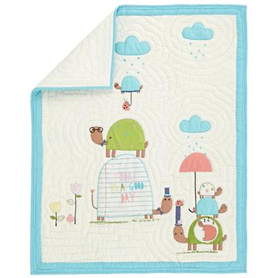 See Turtles Baby Quilt