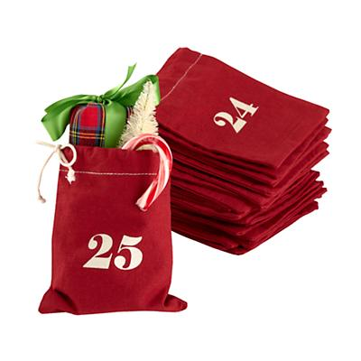 Christmas Countdown Goodie Bags & Stocking Stuffers Set