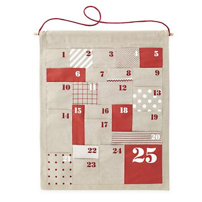 All Shapes and Sizes Countdown Advent Calendar (Natural)