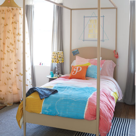 Hampshire Canopy Kids Bed - Twin Stone Hampshire Canopy Bed