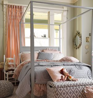 Twin Antique Chic Grey Quilt