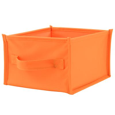 I Think I Canvas Shelf Bin (Orange)