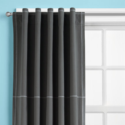 Gray curtain panels curtain design