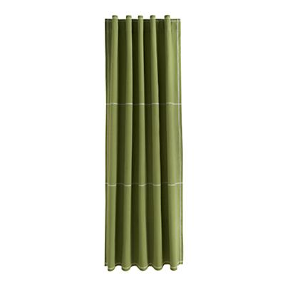 "63"" Canvas Curtain Panel (Green)"