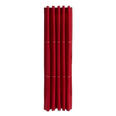 "63"" Canvas Curtain Panel (Red)"