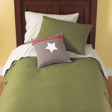 Boys Bedding: Boys Green Cargo Bedding Comforter - Twin Green Cargo Duvet Cover