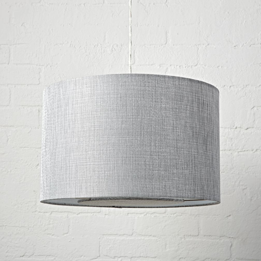 Hangin' Around Silver Textured Ceiling Light