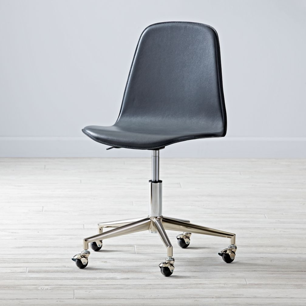 Class Act Grey & Silver Desk Chair
