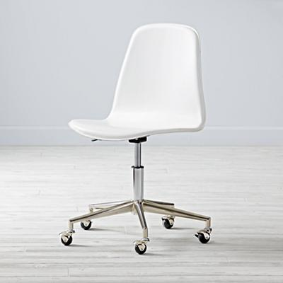 Class Act Desk Chair (White)