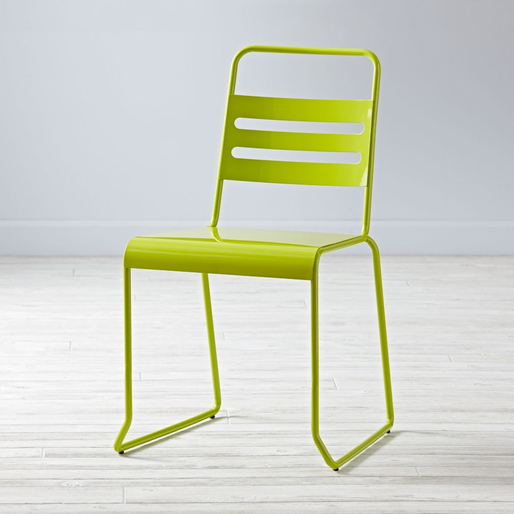 Homeroom Metal Desk Chair (Lime)