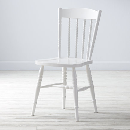 Jenny Lind Desk Chair (White) - Jenny Lind White Spindle Desk Chair